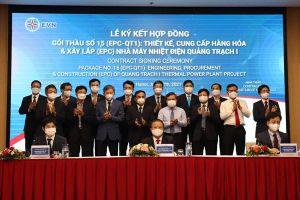 Ký kết hợp đồng hơn 30.000 tỷ đồng thiết kế, xây lắp Nhà máy Nhiệt điện Quảng Trạch 1