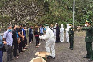 Hà Tĩnh tạm dừng tiếp nhận công dân từ Lào về qua cửa khẩu