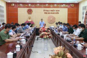Nâng cao cấp độ phòng, chống dịch COVID-19 trên địa bàn thị xã Nghi Sơn