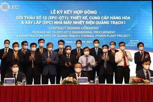 Ký kết gói thầu trị giá hơn 30 nghìn tỷ đồng để xây dựng nhà máy nhiệt điện Quảng Trạch I