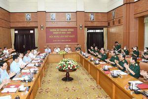 Tổng Bí thư: Quân đội phải đi đầu trong đấu tranh chống tham nhũng, chủ nghĩa cá nhân