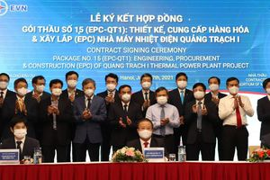 Đầu tư hơn 41.000 tỷ đồng xây lắp Nhà máy Nhiệt điện Quảng Trạch I