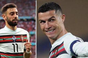 Đồng đội nói Cristiano Ronaldo không phải là 'cầu thủ giá trị nhất' đội tuyển Bồ Đào Nha