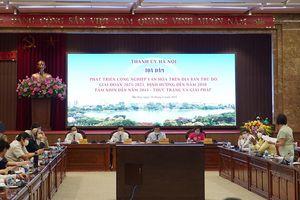 Chuyên gia hiến kế cho Hà Nội về phát triển công nghiệp văn hóa