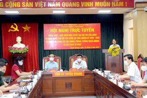 Tuyên Quang: Quán triệt, thực hiện nghị quyết về công tác nội chính