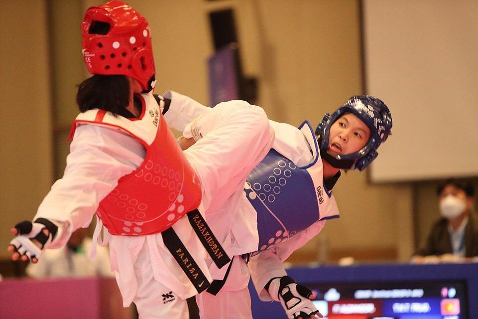 Kim Tuyền giành HCV giải vô địch taekwondo châu Á