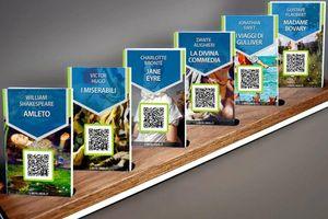 Dự án đọc sách miễn phí với mã QR tại Italy