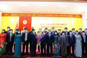 HĐND huyện Thạch Thất tổ chức kỳ họp thứ nhất
