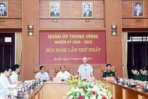 Phiên họp lần thứ nhất Quân ủy Trung ương nhiệm kỳ 2020-2025