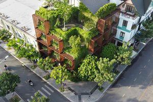 Cây xanh bao bọc xung quanh, tòa nhà Sài Gòn lên báo Mỹ