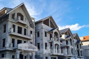 Tận thấy dự án du lịch biến thành khu toàn biệt thự để bán ở Hà Nội