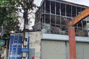 Ninh Bình: Cháy cửa hàng sắt trong đêm, thiệt hại hàng trăm triệu đồng