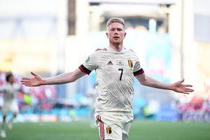 Kết quả Đan Mạch 1-2 Bỉ: Khác biệt ở De Bruyne