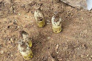 Cải tạo sân sau đào được 'chai sữa', ai ngờ là 'bảo bối' của tử thần