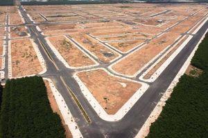 Ngắm những cung đường đẹp vuông vức trong khu TĐC sân bay Long Thành
