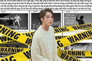 Fan 'nổi đóa' khi xuất hiện tài khoản Youtube giả mạo tung demo ca khúc Sơn Tùng hợp tác Kay Trần