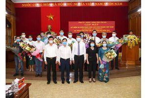 Gặp mặt kỷ niệm 96 năm ngày báo chí cách mạng Việt Nam (21/6/1925 - 21/6/2021) và trao giải báo chí năm 2021