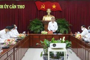 Thường trực Thành ủy làm việc với các ban xây dựng Ðảng và Văn phòng Thành ủy