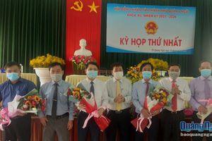 Hội đồng nhân dân TP.Quảng Ngãi (khóa XII), tổ chức Kỳ họp thứ nhất