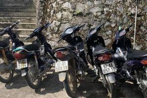 Bắc Kạn: CSGT đón lõng, khống chế 8 thiếu niên từ quê ra phố đua xe