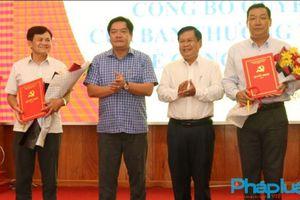 Kiên Giang công bố quyết định chuẩn y hai Phó Bí thư Huyện ủy