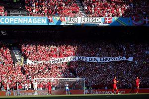 Xúc động khoảnh khắc trận Đan Mạch - Bỉ tạm dừng để tri ân Eriksen