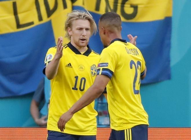Kết quả EURO 2020: Đánh bại Slovakia, Thụy Điển vươn lên ngôi đầu bảng