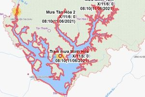 Vụ hồ Dầu Tiếng bị xâm hại: Công ty Tân Châu thi công trước khi có giấy phép xây dựng
