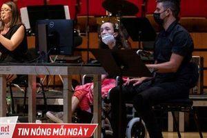 Công nghệ giúp người khuyết tật chơi nhạc bằng mắt