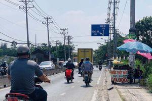 Phân luồng giao thông trên đường Phan Văn Hớn