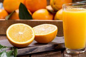 Nếu uống nước cam mỗi ngày chuyện gì xảy ra cho cơ thể?
