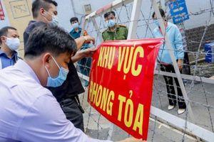 Phong tỏa 3 khu phố với gần 56.000 người ở quận Bình Tân từ 0 giờ 20-6