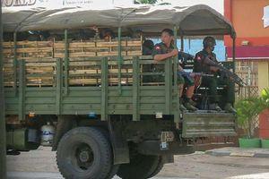 Nổ liên tiếp ở Yangon