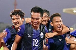 Tuyển Campuchia nhận nhiệm vụ vào vòng loại thứ ba Asian Cup