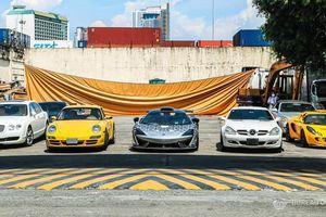 Nhiều siêu xe triệu USD bị tiêu hủy tại Philippines