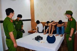 20 nam, nữ thuê khách sạn ở Quảng Nam sử dụng ma túy