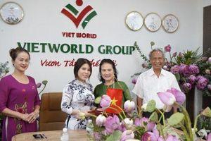 Ký kết hợp tác giữa Quỹ Hỗ trợ bảo tồn di sản văn hóa Việt Nam và Tập đoàn Thế giới Việt