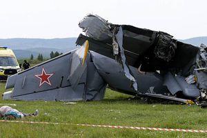 Rơi máy bay ở Nga, nhiều người chết