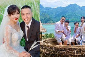 Mỗi năm chụp ảnh cưới 1 lần, MC Hoàng Linh hạnh phúc viên mãn