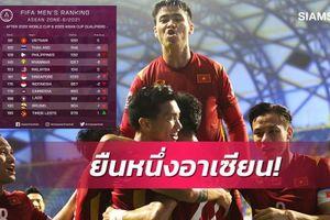 Báo Thái nói gì khi đội nhà thua Việt Nam 30 bậc trên bảng xếp hạng FIFA?