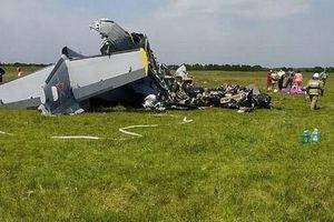 Máy bay Nga rơi ở Siberia, ít nhất 9 người thiệt mạng