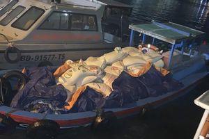 Bắt tàu cá chở 7 tấn phân bón không rõ nguồn gốc