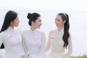 Cẩm Đan tung ảnh diện áo dài trắng cùng dàn người đẹp Hoa hậu Việt Nam
