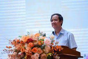 Cảm ơn Bộ trưởng Nguyễn Kim Sơn đã lắng nghe tâm tư các nhà giáo ở cơ sở