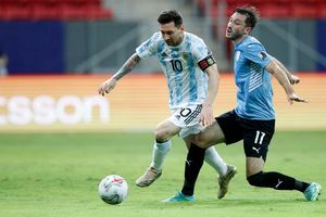 Video bàn thắng Argentina 1-0 Uruguay