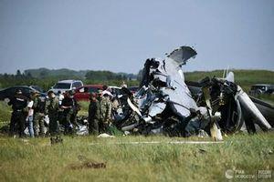 Máy bay huấn luyện nhảy dù rơi ở Nga, 19 người thương vong