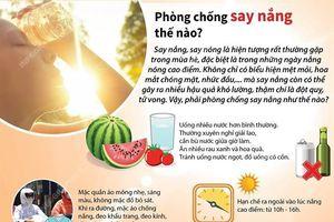 Những cách để phòng, chống say nắng trong mùa Hè