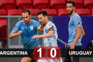 Kết quả Argentina 1-0 Uruguay: Messi tiếp tục tỏa sáng, Argentina có 3 điểm đầu tiên