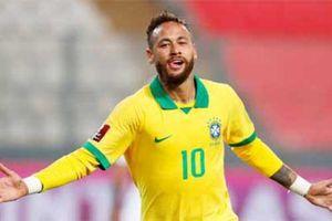Có Neymar, Brazil đá đội hình nào cũng thắng