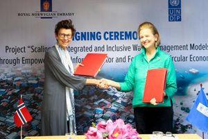 Na Uy tài trợ 1,3 triệu USD cho dự án quản lý và xử lý rác thải ở Việt Nam
